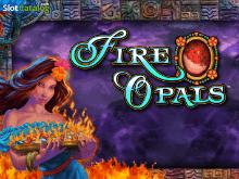 Огненная тематика от азартного игрового автомата Fire Opals